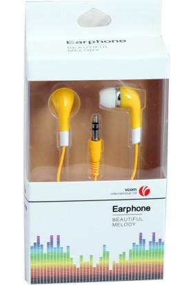 Vcom M232-Y Sarı Kulak İçi Kulaklık