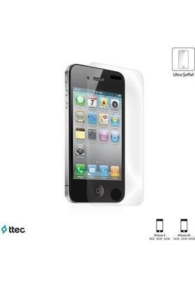 Ttec 2Eku2005 Iphone 4-4S Ultra Şeffaf Tek Taraflı