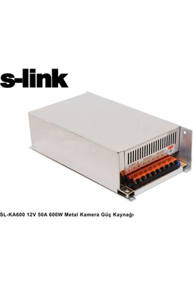 S-Lınk Sl-Ka600 12V-50A Kamera Adaptörü