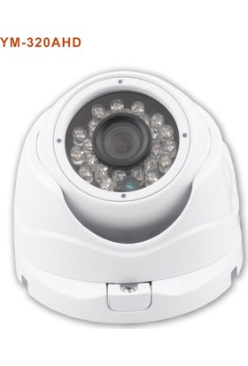 X5 Tech Ym-320Ahd Dome 1-4 1Mp 720P-960H 3.6Mm Kam