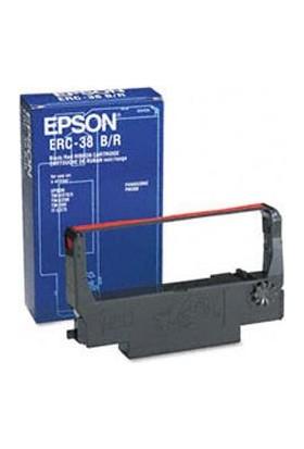 Epson Erc 38Br Kırmızı-Siyah Şerit (S015376)