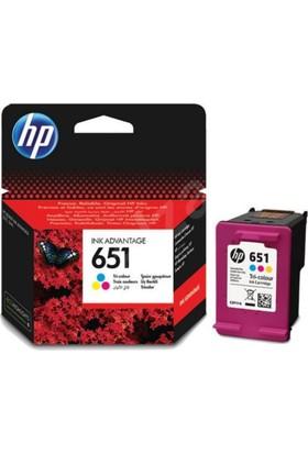 HP 651 Renkli Mürekkep Kartuşu C2P11AE