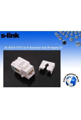 S-Lınk Sl-Ks10 Cat5 Utp Keystone Jack3U 90 Derece