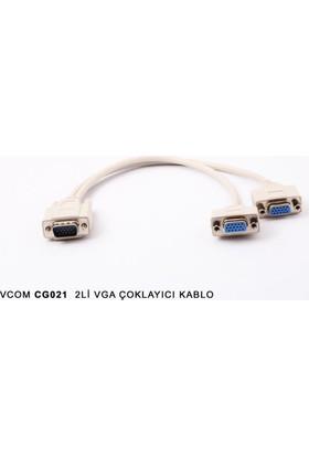Vcom Cg021-0.2 2Li Vga Çoklayıcı Kablo