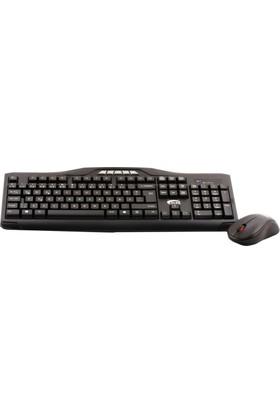 Elba Ec-266 Q Usb Siyah Kablosuz Klavye Mouse Set