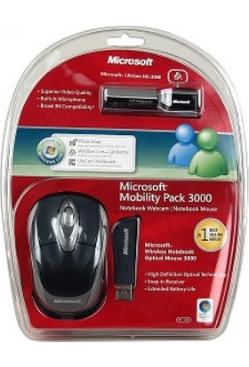 Mıcrosoft 4Pl-00003 Wireless Mouse + Webcam