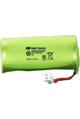 GP T382 2.4V 550mAh 2'li Telsiz Telefon Pili