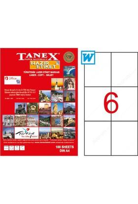 Tanex Tw-2303 105 Mm X 99 Mm 100 Sayfa Lazer