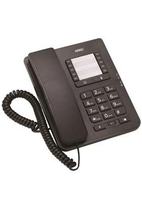 Karel Tm-142 Siyah Masa Üstü Telefon