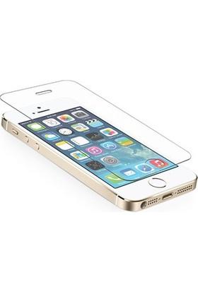 Inovaxis Iphone 5 / 5S (4'Lü Ekonomik Paket) Kırılmaya Dayanıklı Temperli Cam Ekran Koruyucu Paket