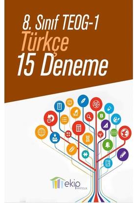 Ekip Yayınları Teog 1 Türkçe 15 Deneme