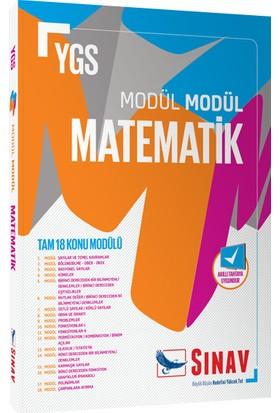Sınav Dergisi Yayınları Ygs Matematik Konu Modülü