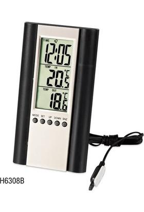 TT-Technic H6308B Termometre Saat Alarm