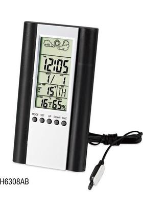 TT-Technic H6308AB Termometre Nem Ölçer Saat Alarm
