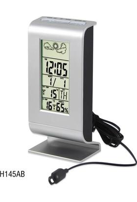 TT-Technic H145AB Termometre Nem Ölçer Saat Alarm