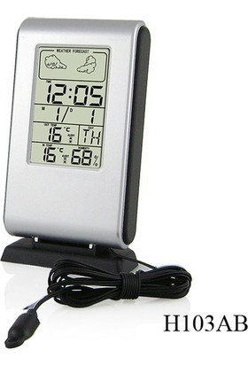 TT-Technic H103AB Termometre Nem Ölçer Saat Alarm