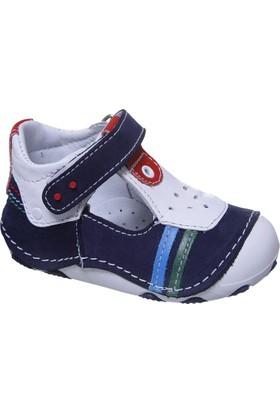 Sanbe İlkadım Erkek Deri Ayakkabı Lacivert