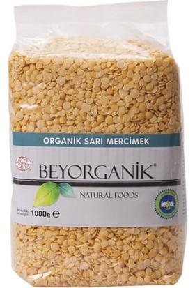 BeyOrganik Organik Sarı Mercimek, 1000gr