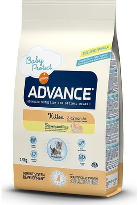 Advance Baby Protect Kitten Tavuklu Yavru Kedi Maması 1,5 Kg