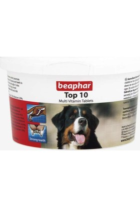 Beaphar Top 10 Köpek Multivitamin Tableti 180 Adet