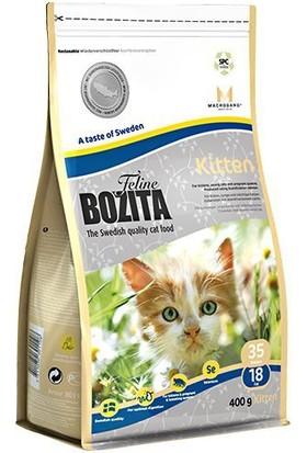 Bozita Feline Kitten Isveç Tavuk Ve Iskandinav Somonlu Yavru Kedi Maması 400 Gr