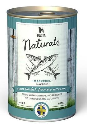 Bozita Naturals Pate Uskumru Balıklı Tahılsız Konserve Köpek Maması 410 Gr