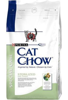 Purina Cat Chow Sterilized - Kısırlaştırılmış Kediler İçin Kedi Maması 1,5 Kg