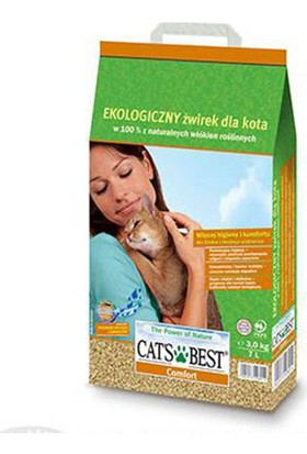 Cats Best Comfort Organik Kedi Kumu 10 Lt (4,3 Kg)