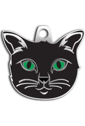 Dalis Pet Tag - Siyah Renk Kedi Künyesi