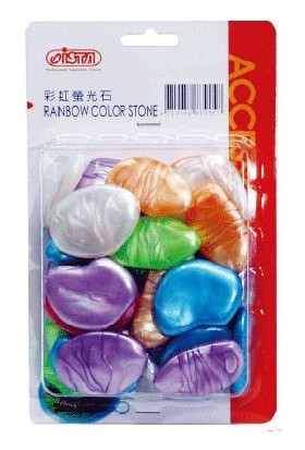 Ista Plastik Renkli Taş Fosforlu Jade