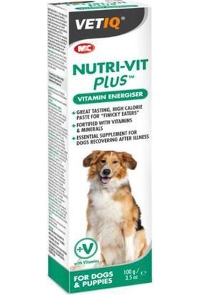Mc Vetiq Nutri-Vit Plus Köpekler İçin Enerji Verici Vitamin Macunu 100 Gr