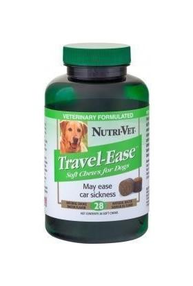 Nutri-Vet Travel Ease Sakinleştirici Ve Seyahat Etmeyi Kolaylaştiran Tablet 28 Adet