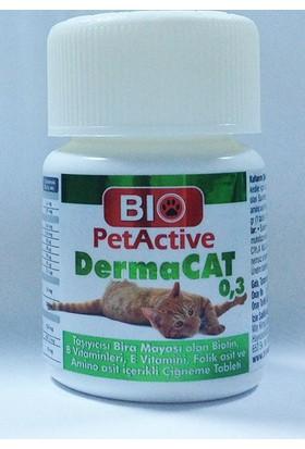 Pet Active Dermacat Kediler İçin Sarmısaklı Maya Tableti 75 Adet