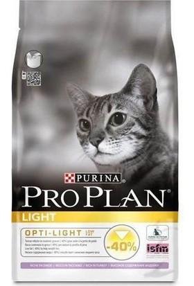 Pro Plan Light Kilo Problemli Yetişkin Kediler İçin Hindili Pirinçli Mama 1,5 Kg