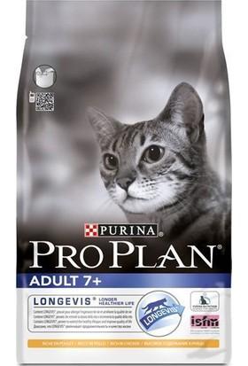 Pro Plan 7 Yaşin Üstündeki Kediler İçin Tavuklu Pirinçli Mama 3 Kg