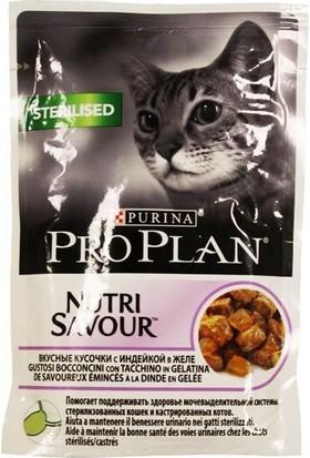 Pro Plan Steril Hindili Kısırlaştırılmış Pouch Kedi Konservesi 85 Gr