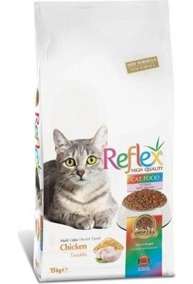 Reflex Renkli Kedi Maması 15 Kg