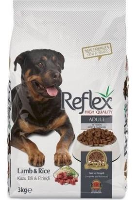 Reflex Kuzu Pirinçli Yetişkin Köpek Maması 15 Kg