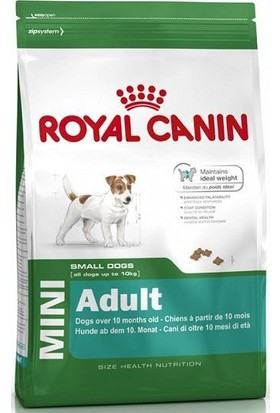 Royal Canin Mini Adult Ufak Irk Yetişkin Köpek Maması 4 Kg
