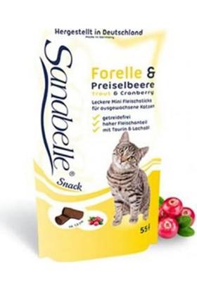 Sanabelle Snack Trout Alabalıklı Kedi Ödül Maması 55 Gr