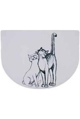 Trixie Kedi Mama Servisi, 40×30 Cm, Yarim Daire