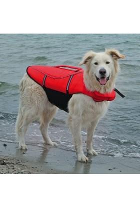 Trixie Fosforlu Köpek Can Yeleği (L) 50-80 Cm 36 Kg