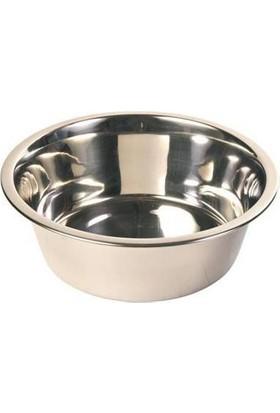 Trixie Köpek Paslanmaz Çelik Su Kabı, 4.5 L - 28 Cm