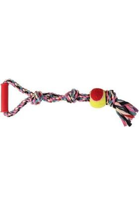 Trixie Köpek Tenis Toplu Tutamaçli Koton Dental Ip