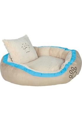 Trixie Extra Yumuşak Yikanabilir Kumaş Köpek Yatağı 100X70 Cm (Turkuaz)