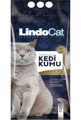 Lindo Cat Topaklanan Bebek Pudralı Hijyenik İnce Taneli Kedi Kumu Parfümsüz 10 Lt