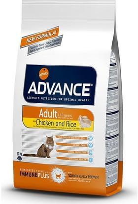 Advance Adult Chickenrice Tavuklu Yetişkin Kedi Maması 1,5 Kg