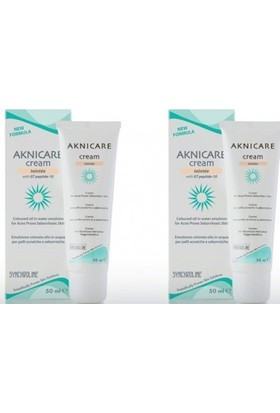 Aknicare Tinted Cream Claire, 50 Ml 2 Adet