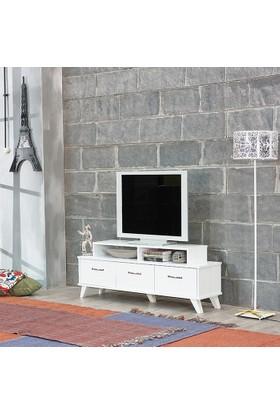 Abre Vm-451 Moda Tv Sehpası Beyaz