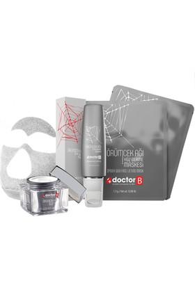 Doctor B 1 Örümcek Ağı Kremi , 4 Adet Örümcek Ağı Maskesi Ve 1 Serum